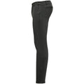 Charcoal - Side - SOLS Mens Jules Chino Trousers
