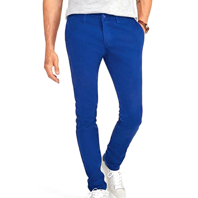 Ultramarine - Lifestyle - SOLS Mens Jules Chino Trousers