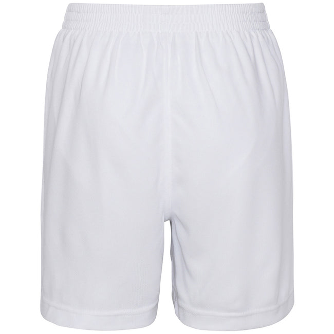 Arctic White - Back - AWDis Just Cool Childrens-Kids Sport Shorts