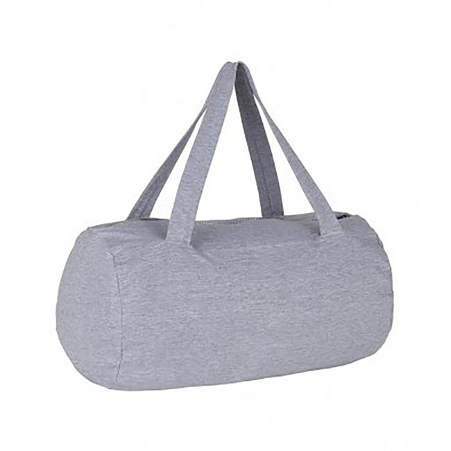 Grey Marl - Front - SOLS Laguna Barrel Bag
