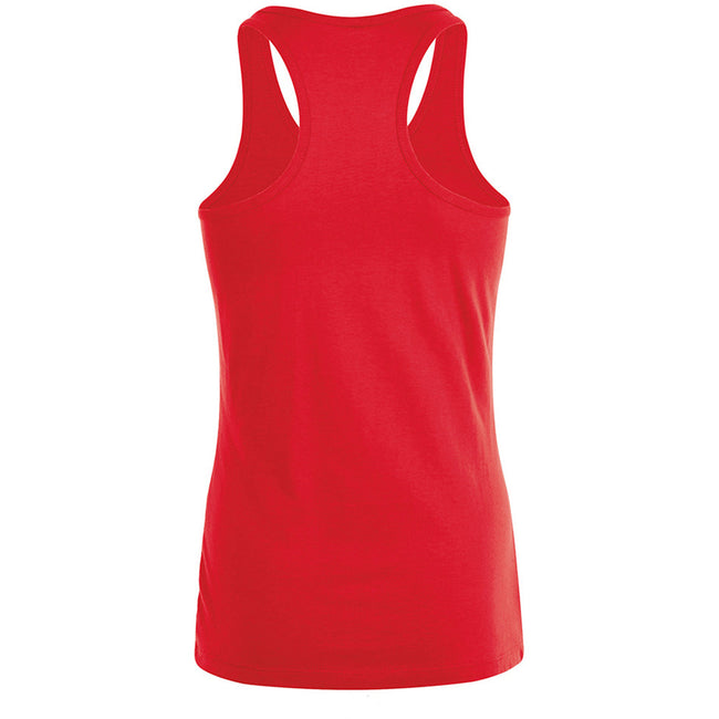 Red - Back - SOLS Womens-Ladies Justin Sleeveless Vest