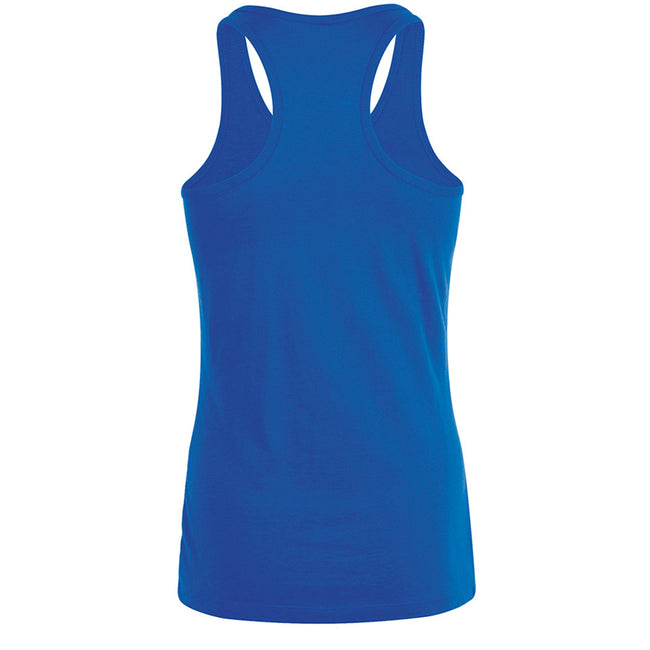 Royal Blue - Back - SOLS Womens-Ladies Justin Sleeveless Vest