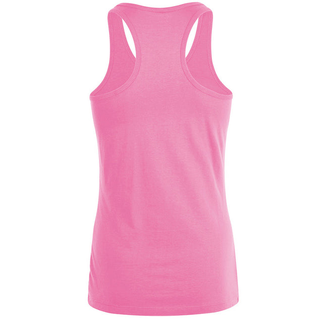 Orchid Pink - Back - SOLS Womens-Ladies Justin Sleeveless Vest