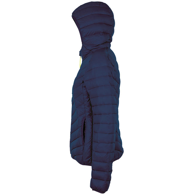 French Navy - Side - SOLS Womens-Ladies Ray Padded Jacket