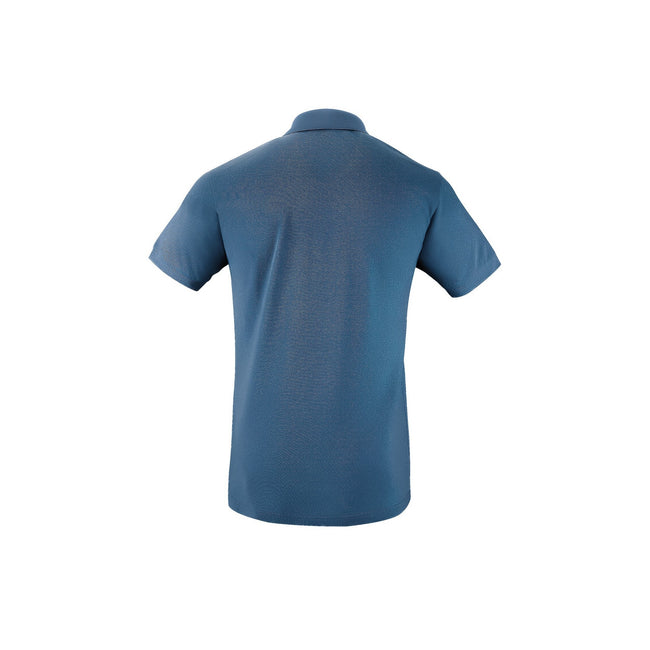 French Navy - Front - SOLS Mens Perfect Pique Short Sleeve Polo Shirt