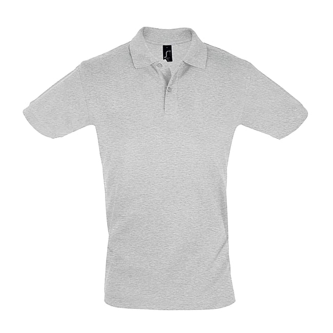 French Navy - Side - SOLS Mens Perfect Pique Short Sleeve Polo Shirt