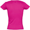 Fuchsia - Back - SOLS Womens-Ladies Miss Short Sleeve T-Shirt