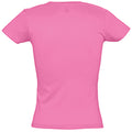 Orchid Pink - Back - SOLS Womens-Ladies Miss Short Sleeve T-Shirt
