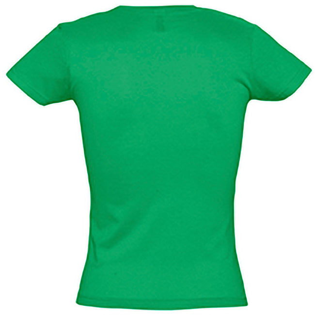Kelly Green - Back - SOLS Womens-Ladies Miss Short Sleeve T-Shirt