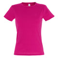 Fuchsia - Front - SOLS Womens-Ladies Miss Short Sleeve T-Shirt