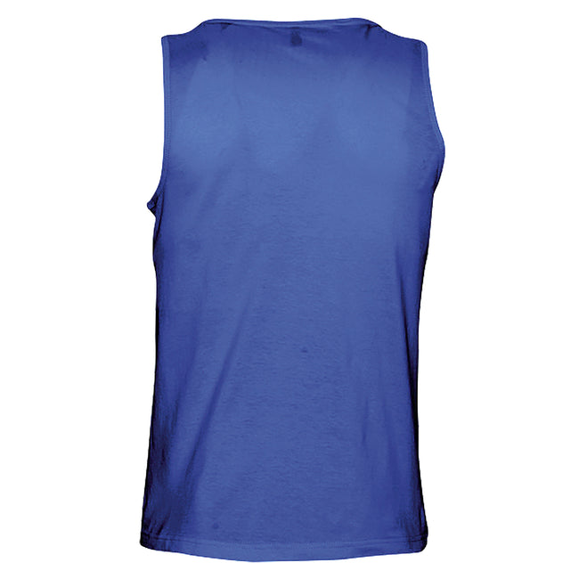 French Navy - Front - SOLS Mens Justin Sleeveless Tank - Vest Top