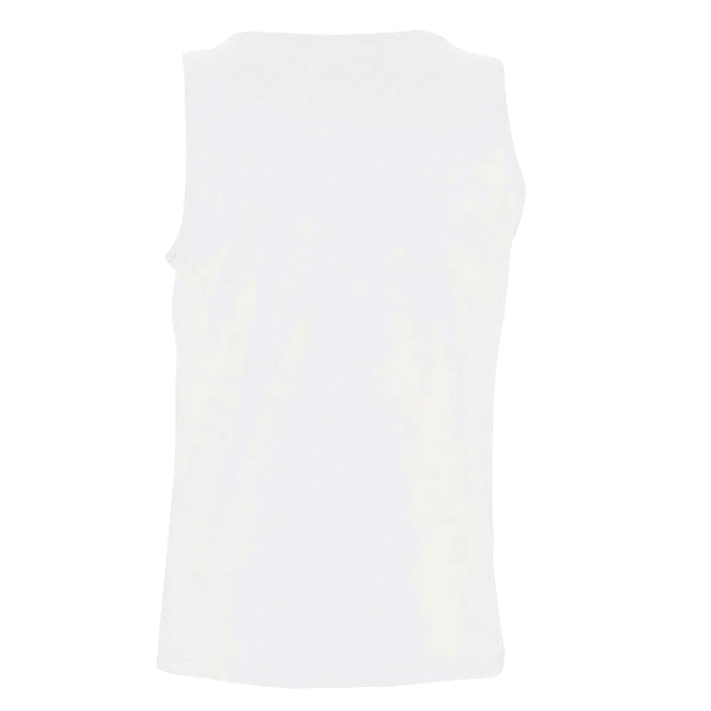 Grey Marl - Front - SOLS Mens Justin Sleeveless Tank - Vest Top