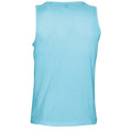 Deep Black - Front - SOLS Mens Justin Sleeveless Tank - Vest Top