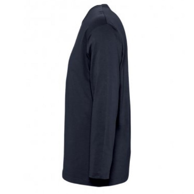 Kelly Green - Side - SOLS Mens Monarch Long Sleeve T-Shirt