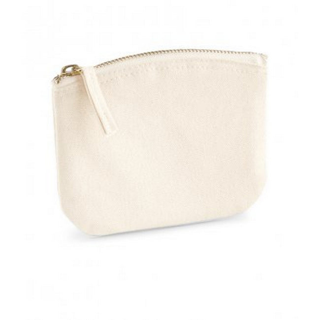 Natural - Front - Westford Mill EarthAware Organic Spring Purse