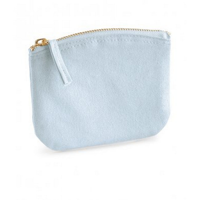 Pastel Blue - Front - Westford Mill EarthAware Organic Spring Purse