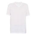 White - Front - American Apparel Sublimation Unisex V Neck T-Shirt