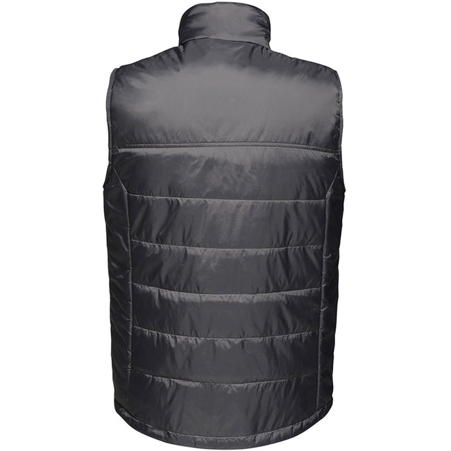 Black - Back - Regatta Mens Stage II Insulated Bodywarmer