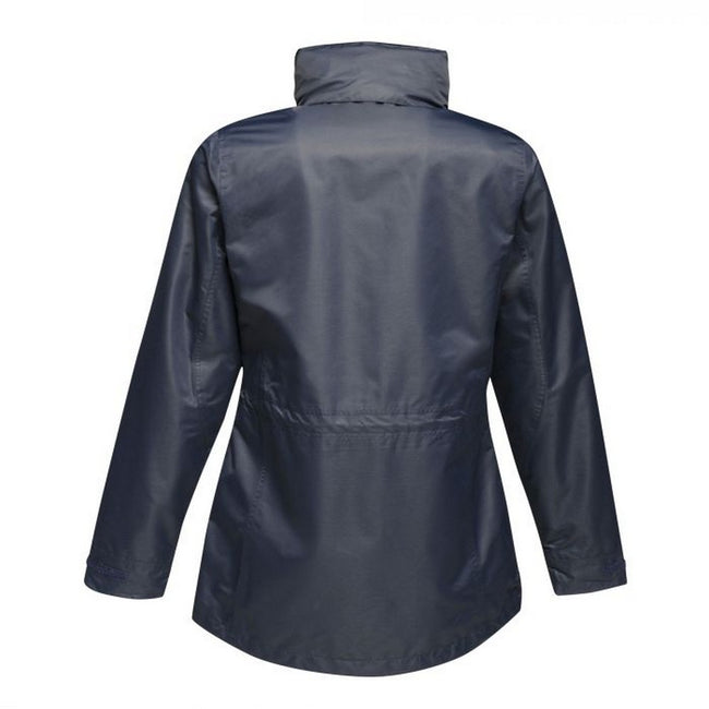 Black-Black - Back - Regatta Womens-Ladies Benson III 3-in-1 Breathable Jacket