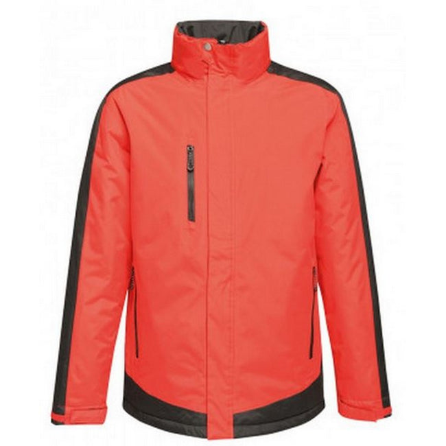Classic Red-Black - Front - Regatta Mens Contrast Insulated Jacket