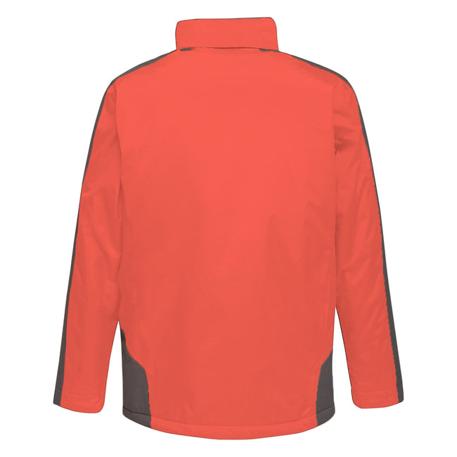 Seal Grey-Black - Front - Regatta Mens Contrast Insulated Jacket