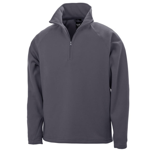 Charcoal - Front - Result Core Unisex Micro Fleece