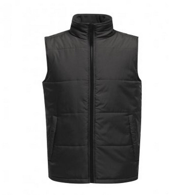 Seal Grey-Black - Front - Regatta Standout Mens Access Insulated Bodywarmer