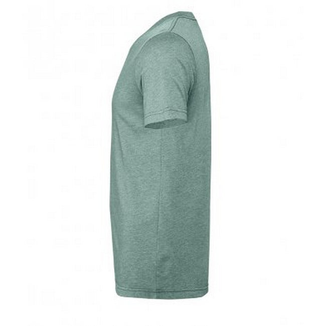Heather Ice Blue - Front - Bella + Canvas Adults Unisex Heather CVC T-Shirt