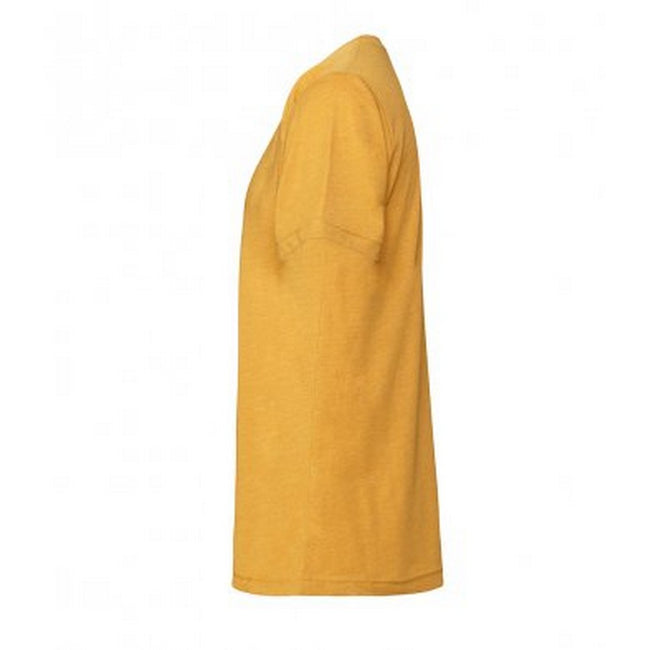 Heather Peach - Front - Bella + Canvas Adults Unisex Heather CVC T-Shirt
