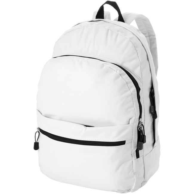 White - Front - Bullet Trend Backpack