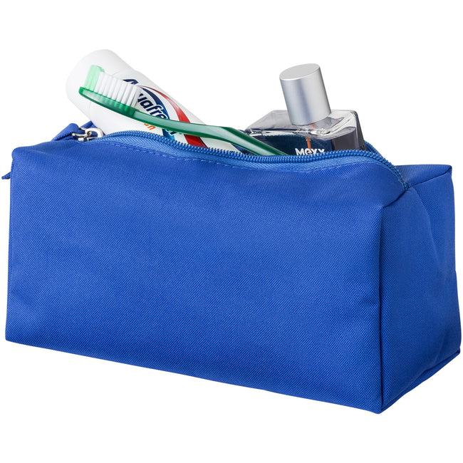 Blue - Back - Bullet Passage Toiletry Bag
