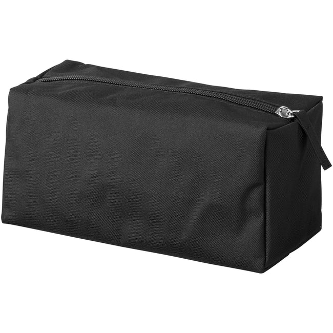 Solid Black - Back - Bullet Passage Toiletry Bag