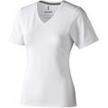 White - Front - Elevate Womens-Ladies Kawartha Short Sleeve T-Shirt