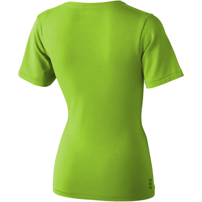 Apple Green - Back - Elevate Womens-Ladies Kawartha Short Sleeve T-Shirt