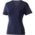Navy - Front - Elevate Womens-Ladies Kawartha Short Sleeve T-Shirt