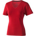 Red - Front - Elevate Womens-Ladies Kawartha Short Sleeve T-Shirt