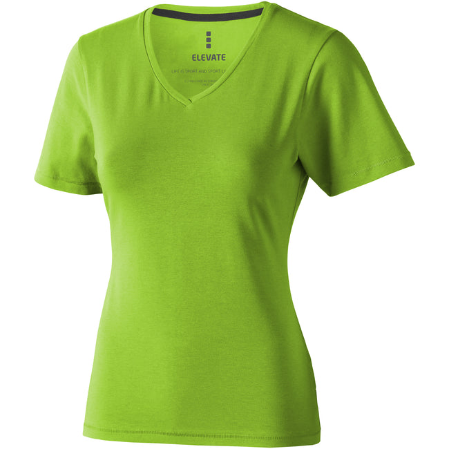 Apple Green - Front - Elevate Womens-Ladies Kawartha Short Sleeve T-Shirt