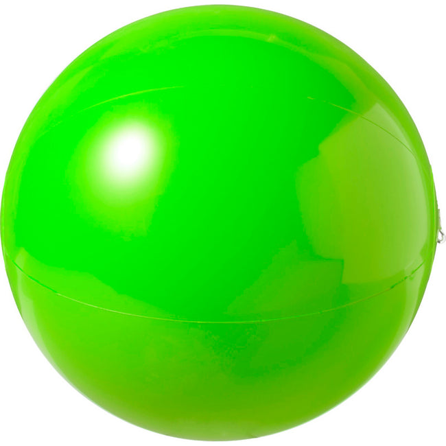 Green - Back - Bullet Bahamas Solid Colour Beach Ball