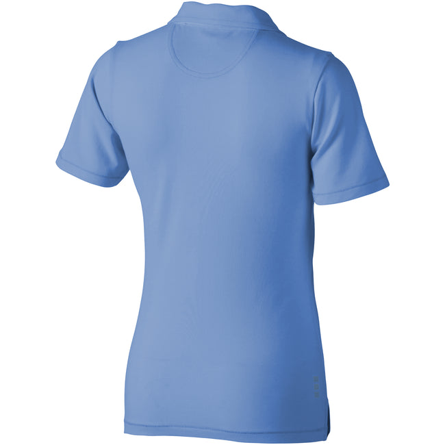 Light Blue - Back - Elevate Markham Short Sleeve Ladies Polo