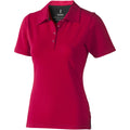 Red - Front - Elevate Markham Short Sleeve Ladies Polo