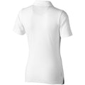White - Back - Elevate Markham Short Sleeve Ladies Polo