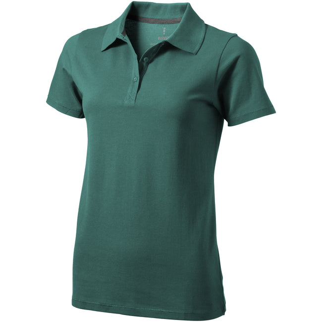 Forest Green - Front - Elevate Seller Short Sleeve Ladies Polo
