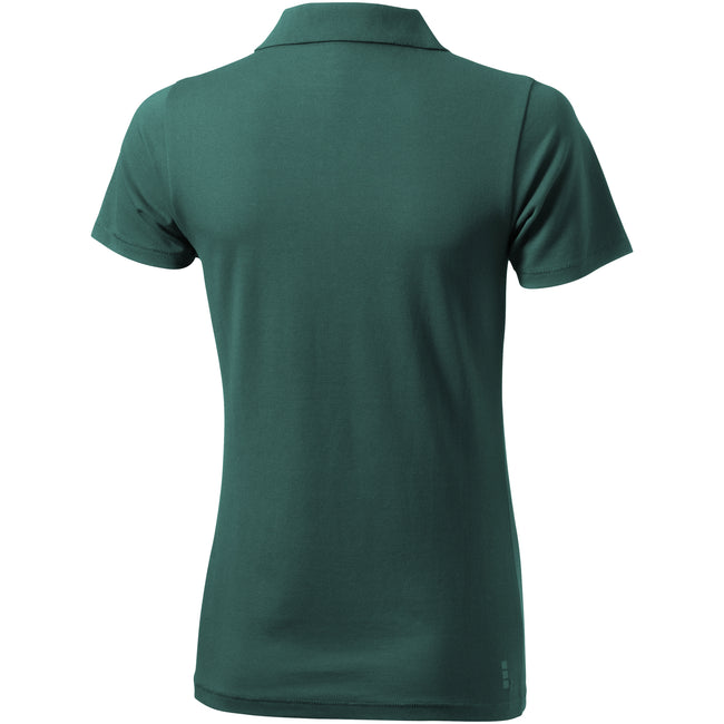 Forest Green - Back - Elevate Seller Short Sleeve Ladies Polo