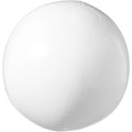 White - Front - Bullet Bahamas Solid Colour Beach Ball