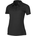 Anthracite - Front - Elevate Primus Short Sleeve Ladies Polo