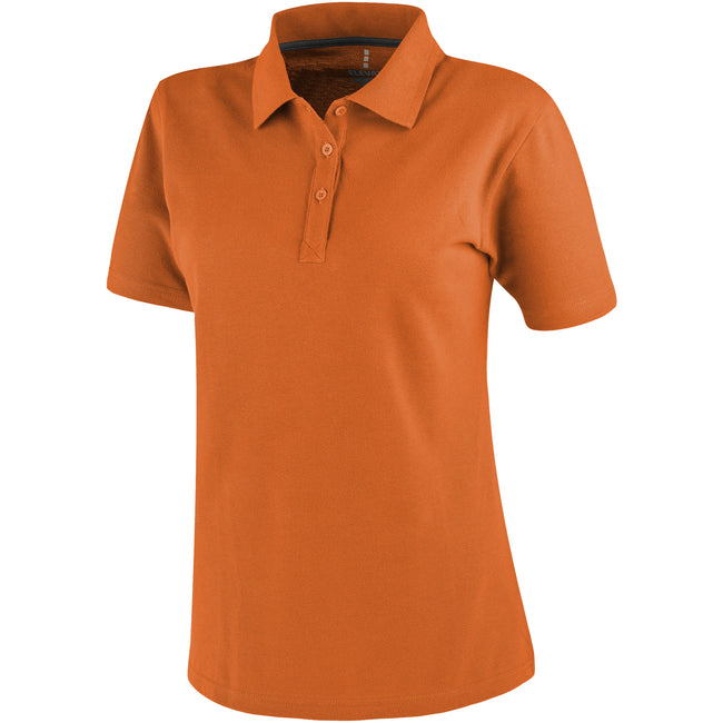 Apple Green - Front - Elevate Primus Short Sleeve Ladies Polo