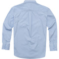 Frosted Blue - Back - Elevate Mens Wilshire Long Sleeve Shirt