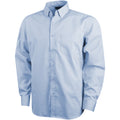 Frosted Blue - Front - Elevate Mens Wilshire Long Sleeve Shirt