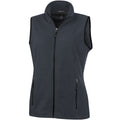 Storm Grey - Front - Elevate Womens-Ladies Tyndall Micro Fleece Bodywarmer