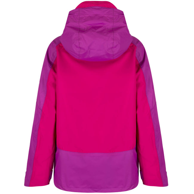 Duchess-Vivid Viola - Back - Regatta Great Outdoors Childrens-Kids Allcrest II Waterproof Jacket